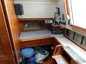 C&C Landfall 38 Navigation Desk