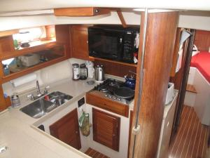 Columbia 45 Galley