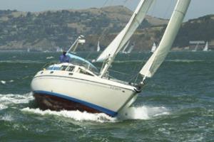 Columbia 45 Sailing