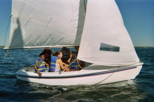 Catalina 14.2 With Full Crew