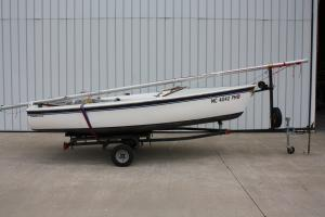 Catalina 14.2 On Trailer