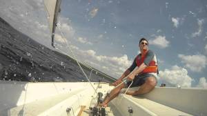 Catalina 14.2 Exciting Sail, Courtesy Vincent Malo