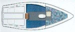 Catalina 22 Mark II Layout
