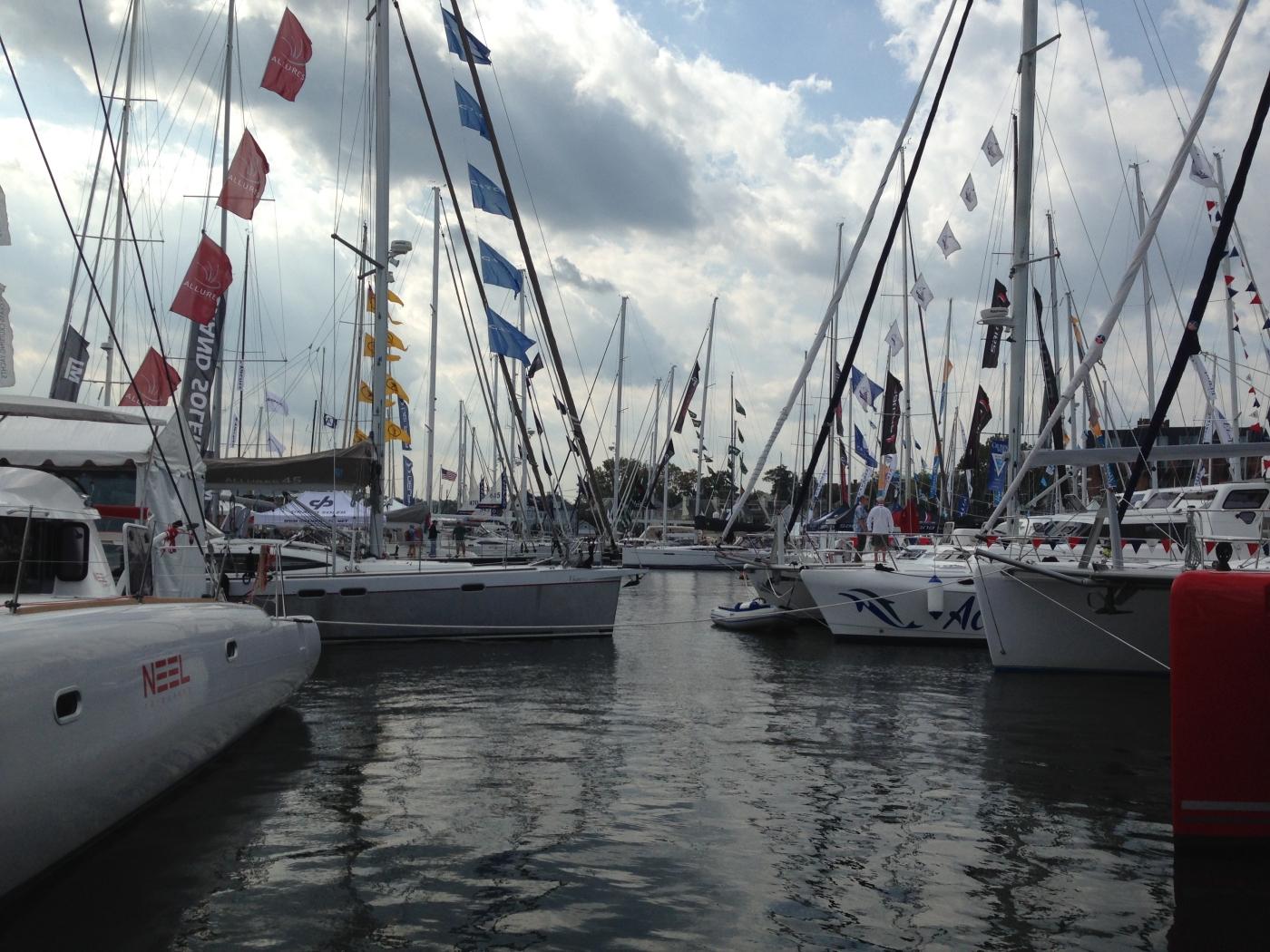 Annapolis Sailboat Show 2015