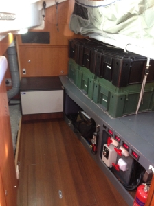 Antares 45i Systems Room