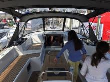 Jeanneau 57 Cockpit