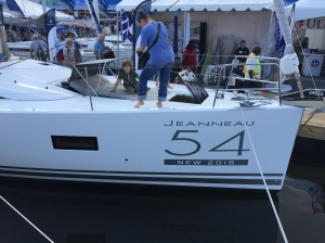 Jeanneau 54 Foredeck Lounge