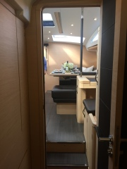 Jeanneau 57 Aft Starboard Stateroom, Facing Forward