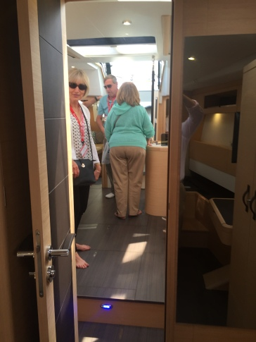 Jeanneau 57 Forward Owner's Stateroom, Facing Aft
