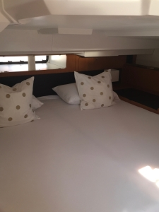 Jeanneau Sun Odyssey 44DS Owner's Cabin Aft, Bunk