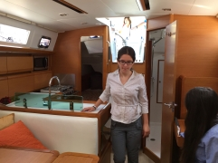 Jeanneau Sun Odyssey 389 Main Salon