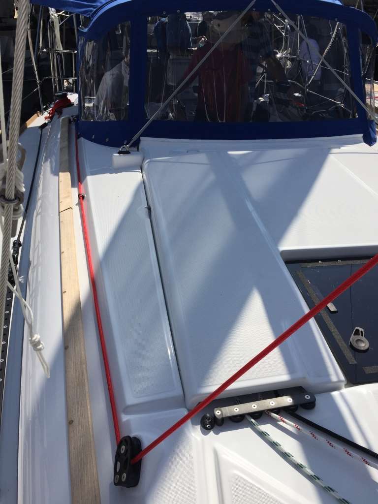 Jeanneau Sun Odyssey 389 Running Rigging, German Mainsheet
