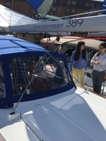 Jeanneau Sun Odyssey 389 Boom and German Mainsheet
