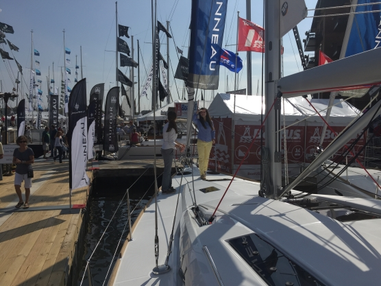 Jeanneau Sun Odyssey 44DS Deck