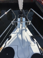 Jeanneau Sun Odyssey 44DS Windlass Housing and Chain Locker