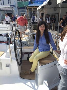 Jeanneau Sun Odyssey 44DS Starboard Helm